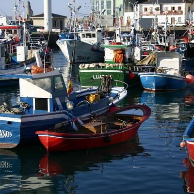 Boats Luarca
