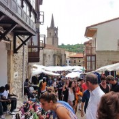 Comillas market day