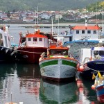 Boats at harbour, Muros, Galicia