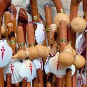 cockleshells & walking sticks