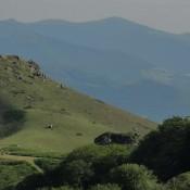 Baztan hills