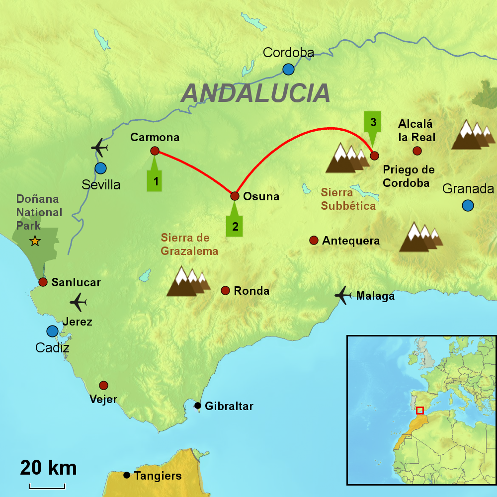 Andalusia Travel Book