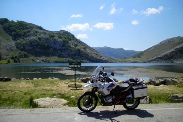 Photo of motorbike Picos de Europa - By kind courtesy of Luciano Brag