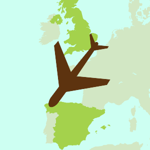 Icon of Fly-drive holidays to Spain