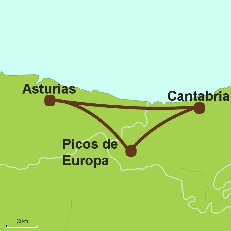 Mar y Montana Picos de Europa driving tour
