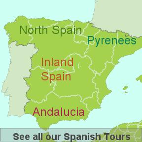Spanish touring regions