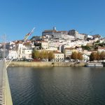 Photo of Coimbra from the rio Mondego