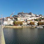 Photo of Coimbra from the rio Mondego