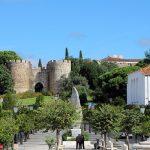 Photo of medieval walls in Vila Viçosa
