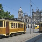 Photo of trams in Porto