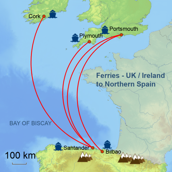 ferry map new with Ireland