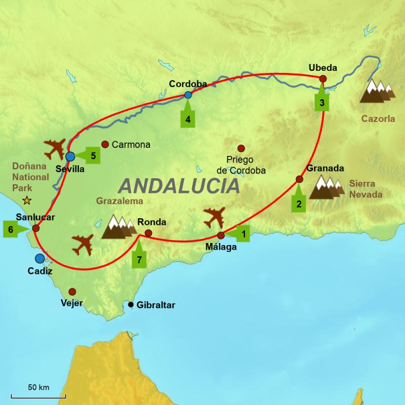 Andalucia Guadalquivir Square