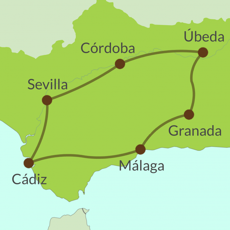 AC2 Small Map of Guadalquivir tour