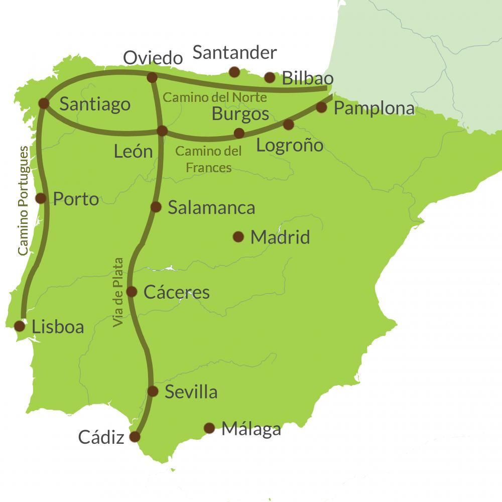 Camino de Santiago Touring Holidays on