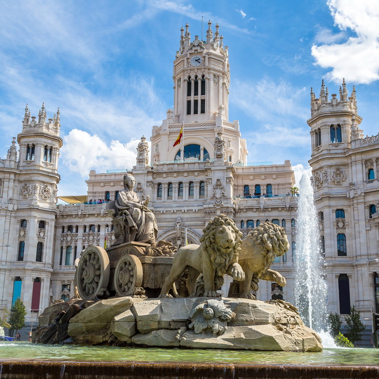 Madrid - Cibeles Fountain