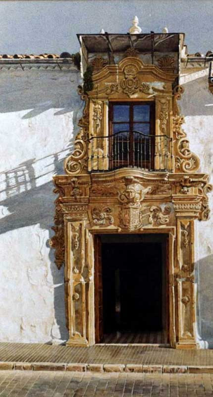Photo of doorway in Osuna
