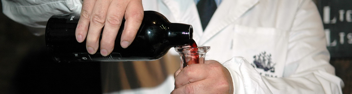 Photo of Port wine decanting