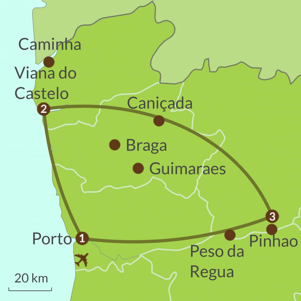 PO1 Taste of North Portugal Tour
