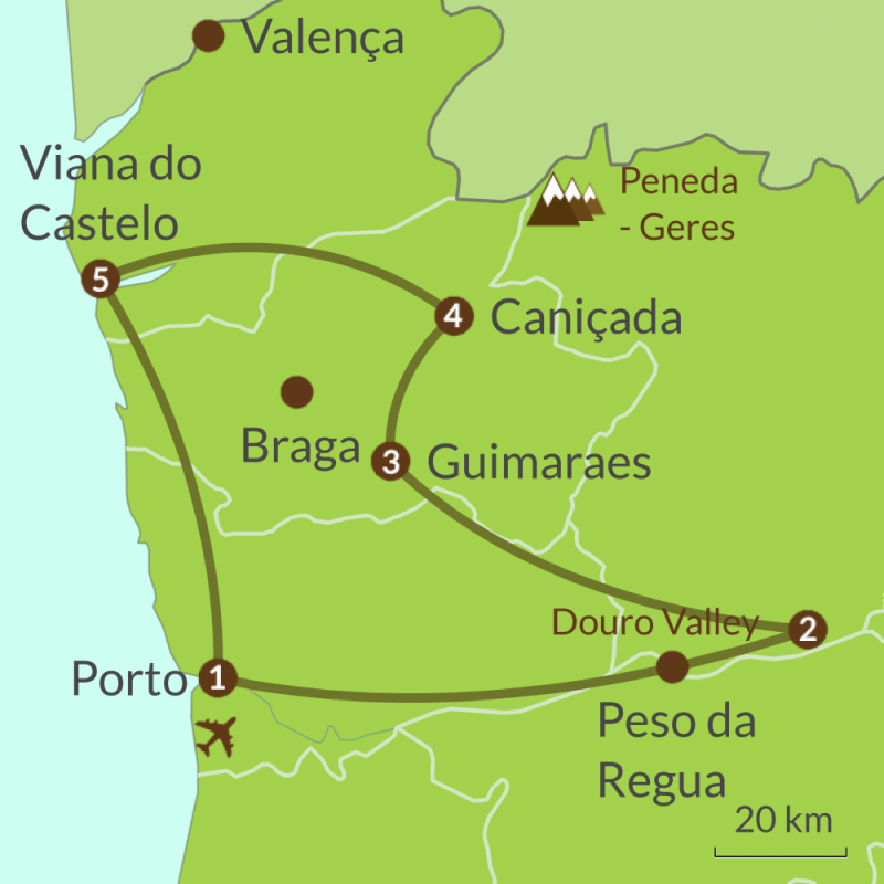 PO2 Round Tour of North Portugal
