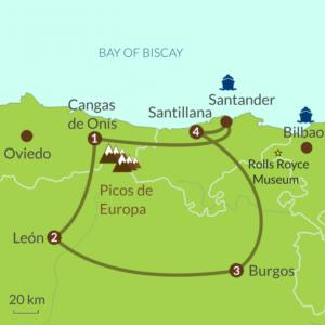 Premier tour - One week in Northern Spain