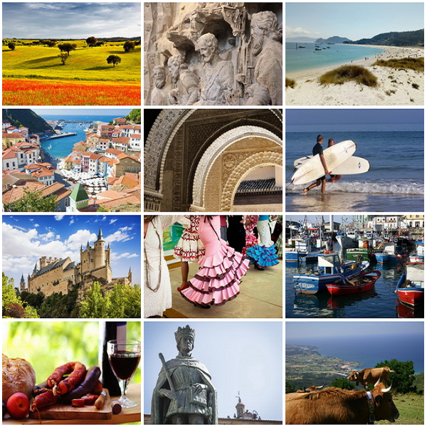 Photos of Spain and Portugal